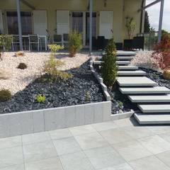 Accès à la piscine: Jardin zen de style  par Schwein Aménagement