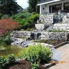 Bachläufe:  Garten von Garten-Landschaftsbau Hierreth-Felser GmbH