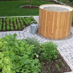 حیاط by Garten-Landschaftsbau Hierreth-Felser GmbH