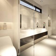 Sun House: Kamar Mandi oleh Arci Design Studio, Modern
