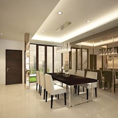 SL House:  Ruang Makan by Arci Design Studio