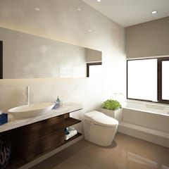 SL House:  Kamar Mandi by Arci Design Studio