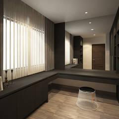 SL House: Ruang Kerja oleh Arci Design Studio,