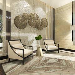 Teratai House:  Koridor dan lorong by Arci Design Studio