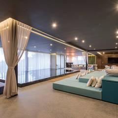 Real de Valle - Sobrado + Ugalde Arquitectos: Spa de estilo  por Sobrado + Ugalde Arquitectos