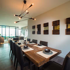 CANTAGIRONE TREPIU: Comedores de estilo moderno por Munera y Molina