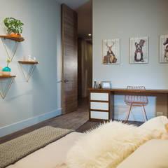 CANTAGIRONE TREPIU: Habitaciones para niñas de estilo  por Munera y Molina