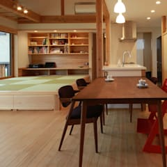 Dining room by 田村建築設計工房