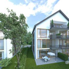 Projekty,  Dom wielorodzinny zaprojektowane przez URBANroom