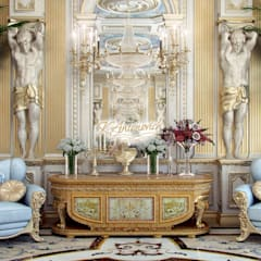 The art of interior design from Katrina Antonovich: classic Dining room by Luxury Antonovich Design