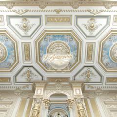 The art of interior design from Katrina Antonovich:  Dining room by Luxury Antonovich Design, Classic