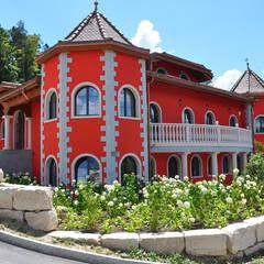 Pietre di Rapolanoが手掛けたリゾートハウス