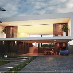 Casas Modernas : Casas familiares  por ►  8|H A U S  -  A R Q U I T E T U R A  ◄
