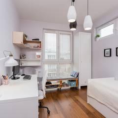 Teen bedroom by ZAWICKA-ID Projektowanie wnętrz