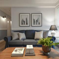 ห้องนั่งเล่น by 存果空間設計有限公司