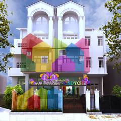 TRƯỜNG MẦM NON KINDY CITY:  Trường học by Công ty TNHH Xây Dựng Và Thương Mại Detail