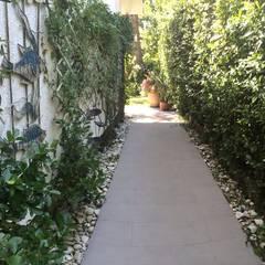 VillaG: Pavimento in stile  di Lucia Lancietti Architetto