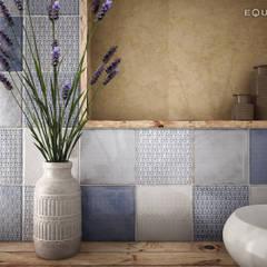 ห้องน้ำ โดย Equipe Ceramicas, เมดิเตอร์เรเนียน เซรามิค