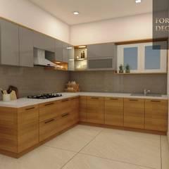 Muebles de cocinas de estilo  por FORTUNE DECOR