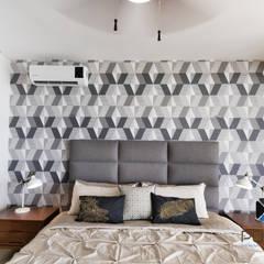 """""""PROYECTO CB36"""": Recámaras de estilo mediterraneo por PORTO Arquitectura + Diseño de Interiores"""