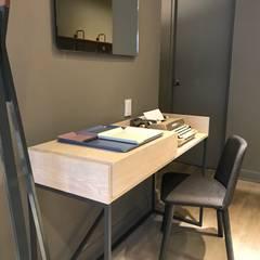 Ambientes CDMX: Estudios y oficinas de estilo  por Home Reface - Diseño Interior CDMX
