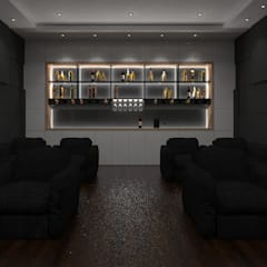 Home Theater:  Electronics by Ravi Prakash Architect