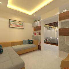 Corridor & hallway by Ravi Prakash Architect