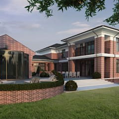 Архитектурное бюро Materia174が手掛けた一戸建て住宅