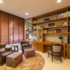 Ruang Kerja oleh RF DESIGN DE INTERIORES, Modern