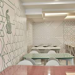 Aménagement intérieur restaurant: Restaurants de style  par studio Franck Magné