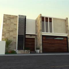 Single family home by SPACIO DISEÑO Y CONSTRUCCION