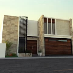 منزل عائلي صغير تنفيذ SPACIO DISEÑO Y CONSTRUCCION