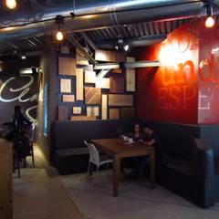 Panadería Andina: Restaurantes de estilo  por Loft estudio C.A., Minimalista