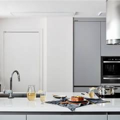마포구 빌라: cocina의  주방 설비