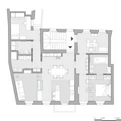 MLN-MLN: Scale in stile  di laib architecture
