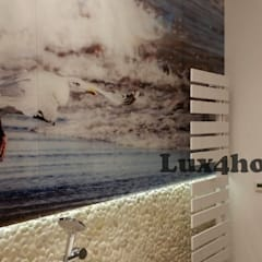 White pebble tiles - White Pebble mosaic manufacturer / producer & Exporter: tropical Bathroom by Lux4home™ Indonesia