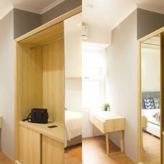 RSA Apartment Unit: Kamar Tidur oleh TIES Design & Build,