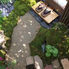 Jardines frontales de estilo  por 株式会社 髙橋造園土木  Takahashi Landscape Construction.Co.,Ltd