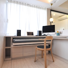 Study/office by homify, Minimalist