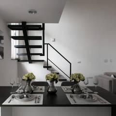 Stairs by 北歐制作室內設計