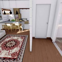 Igor Cunha Arquitetura が手掛けた室内ドア