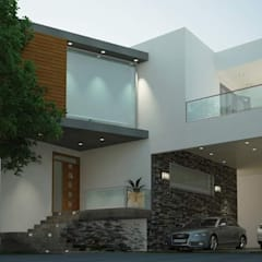 Maisons mitoyennes de style  par V Arquitectura