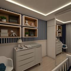 ห้องนอนเด็ก by Tuanny Pinto Arquitetura & Interiores