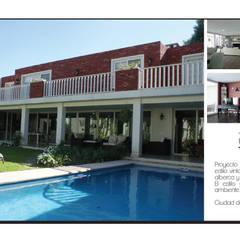 CASA VINTAGE ARQUIMIA ARQUITECTOS: Casas unifamiliares de estilo  por Arquimia Arquitectos