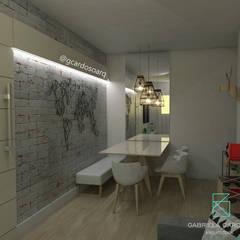 Sala de Jantar: Salas de jantar  por Gabriela Cardoso Arquitetura