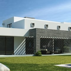 Detached home by AOG,
