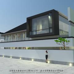 京悅蘇州    -  京悅蘇州:  庭院 by 京悅室內裝修設計工程(有)公司|真水空間建築設計居研所