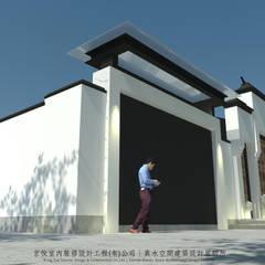 منزل ريفي تنفيذ 京悅室內裝修設計工程(有)公司|真水空間建築設計居研所
