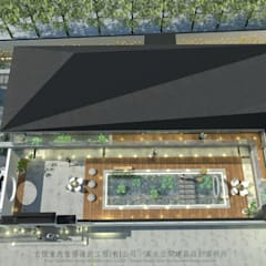 Lean-to roof by 京悅室內裝修設計工程(有)公司|真水空間建築設計居研所
