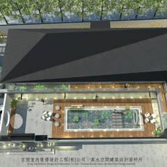Cobertizos de estilo  por 京悅室內裝修設計工程(有)公司|真水空間建築設計居研所